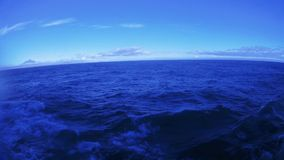Море с острова Kunashir видеоматериал