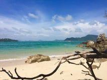 Море с пнем Стоковая Фотография RF