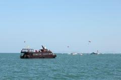 море Таиланд шлюпки Стоковые Фото