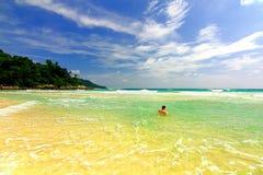 море Таиланд Пхукета Стоковые Изображения RF