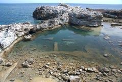 море Тоскана скал Стоковая Фотография
