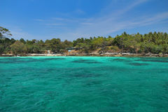 море тропическое Стоковые Фото