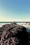 море тропы к Стоковое Изображение