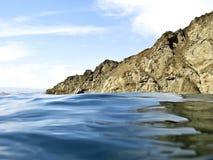 море утеса Стоковые Изображения RF