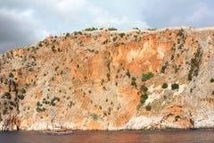 море утеса Стоковая Фотография RF