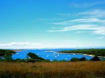 море утра Хорватии светлое Стоковое Изображение RF