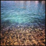 Море утра Стоковая Фотография