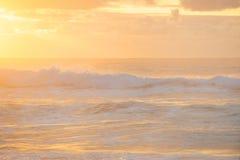 Море утра Стоковое фото RF