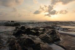 Море утра Стоковая Фотография RF