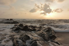 Море утра Стоковые Фото