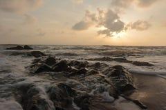 Море утра Стоковые Изображения RF