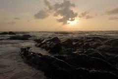 Море утра Стоковые Фотографии RF