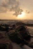 Море утра Стоковые Изображения