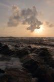 Море утра Стоковое Изображение