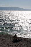 море Хорватии Стоковые Фото