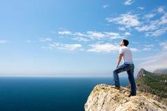 море человека стоковое изображение rf