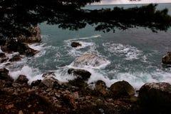 Море Черногории Стоковая Фотография