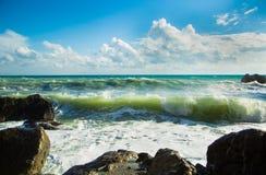Море Чудесное отключение к Чёрному морю, даче ` s Chekhov! Стоковые Фото