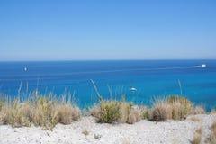 Море Эоловых островов Стоковая Фотография