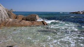 Море Японии весной видеоматериал