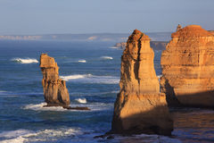 море 12 утесов апостолов Стоковое Изображение RF