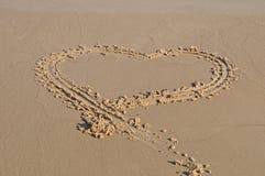 море 2 сердец Стоковое Изображение RF