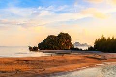 Море andaman Krabi островов Phi Phi залива мам Loh sa, к югу от Thaila Стоковые Изображения