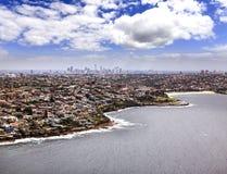 Море Bondi Sy Heli 2 CBD Стоковая Фотография