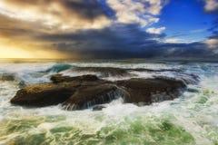 Море Bungan над голубым небом Стоковые Изображения RF