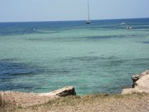Море Favignana Стоковое фото RF