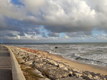 Море Figueira da Foz стоковые изображения rf