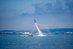 Море Flyboard Стоковое Изображение