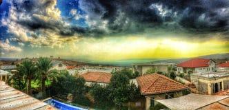 Море galile, Израиль Стоковая Фотография