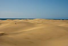 море horizont пустыни Стоковое Изображение