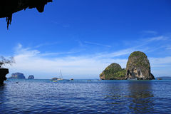 Море krabi Таиланда Стоковые Фото