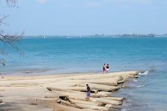 Море Krabi. Стоковые Фото
