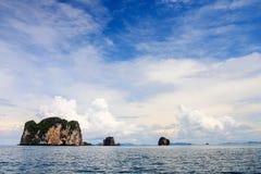 Море Krabi Стоковая Фотография