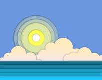 море landscap Стоковое фото RF