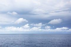 море overcast дня Стоковая Фотография RF