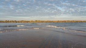 Море Palling Стоковая Фотография RF