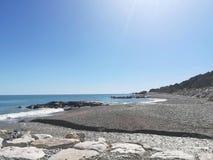 Море rocca San Giovanni стоковое фото rf