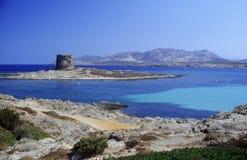 море s Сардинии Стоковая Фотография