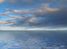 море scape Стоковое Изображение