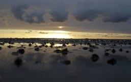 Море Wadden Стоковое Изображение