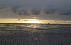 Море Wadden Стоковое Изображение RF
