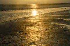 Море Wadden Стоковые Изображения