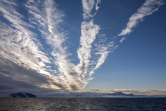 Море Weddell - Антарктика Стоковое Изображение RF