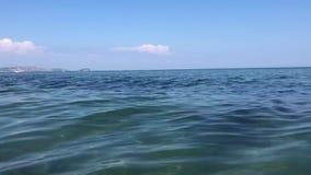 Море Wonderfull с небольшими волнами