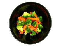 моркови брокколи Стоковые Изображения