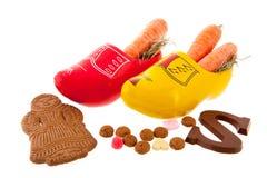 Моркови в голландских clogs для Sinterklaas Стоковое Изображение RF